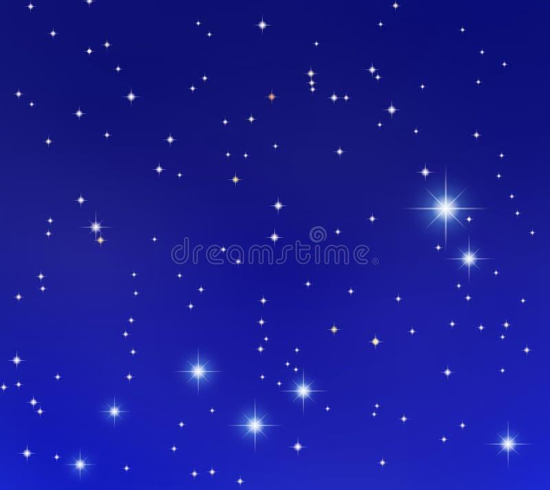 De sterren van Gemeni stock illustratie