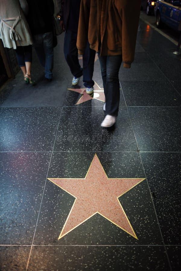 De Sterren van Hollywood royalty-vrije stock afbeelding
