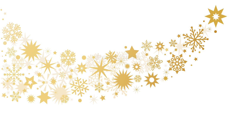 De sterren van de Kerstmisdecoratie - achtergrond met sterren vector illustratie