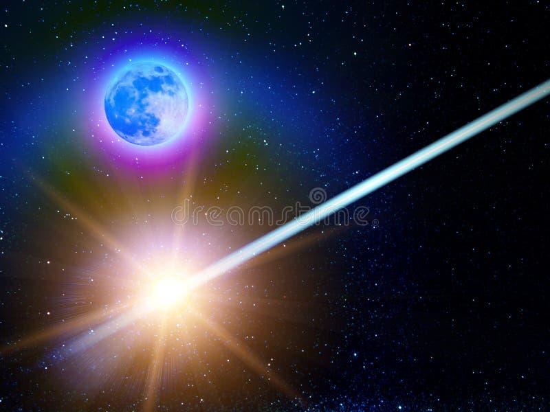De sterrenconstellatie van de hemel royalty-vrije illustratie