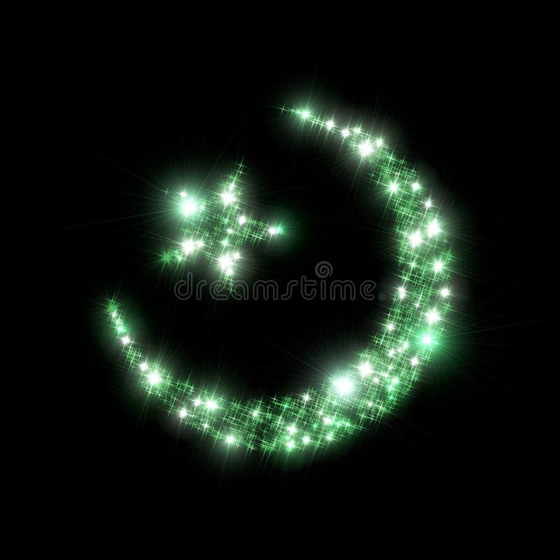 De sterrensymbool van het mohammedanisme vector illustratie