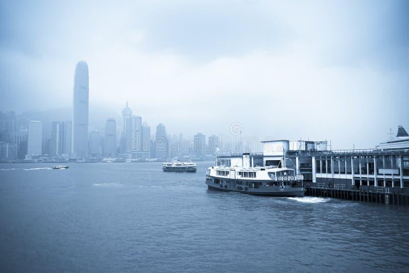 De sterveerboot van Hongkong royalty-vrije stock fotografie