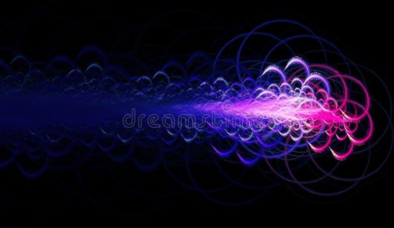 De sterwolk van de kosmische ruimte vector illustratie
