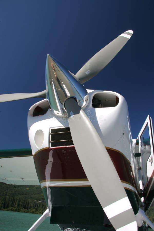 De Steun van Floatplane royalty-vrije stock foto's