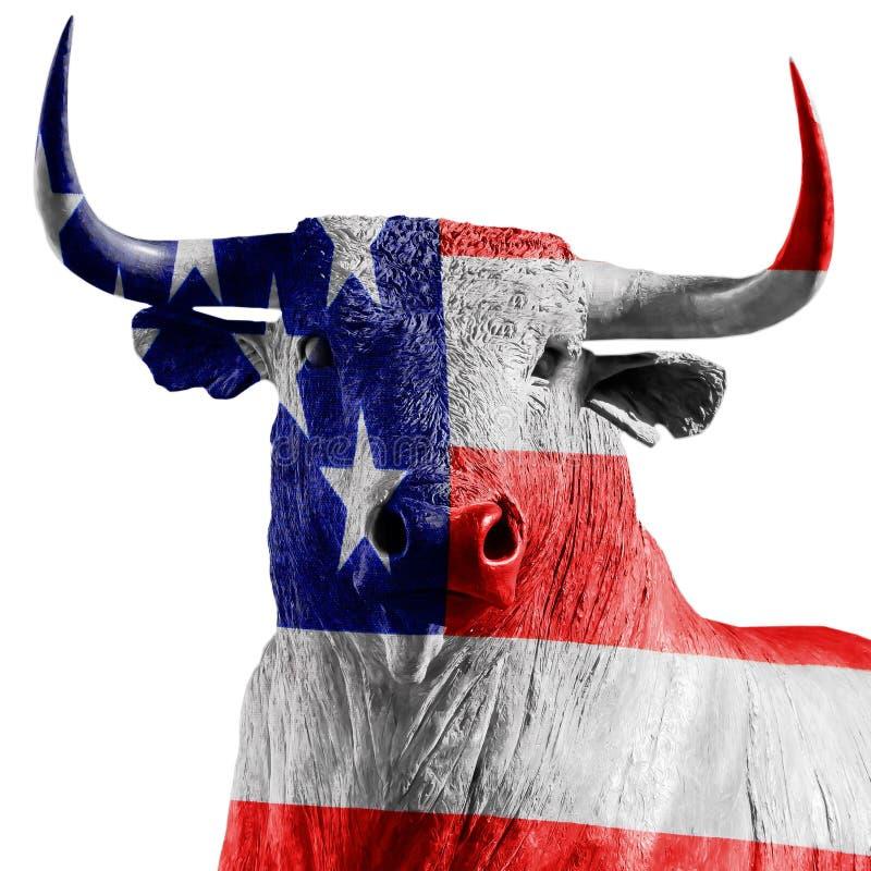 De stier van de V.S. stock foto
