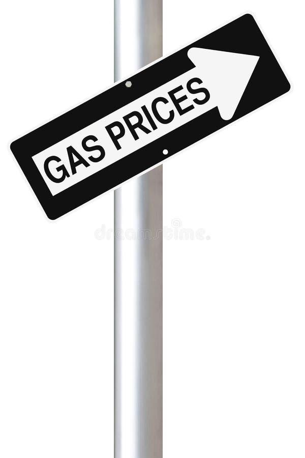 Download De Stijgende Prijzen Van Het Gas Stock Foto - Afbeelding bestaande uit pijl, voorzichtigheid: 29502152