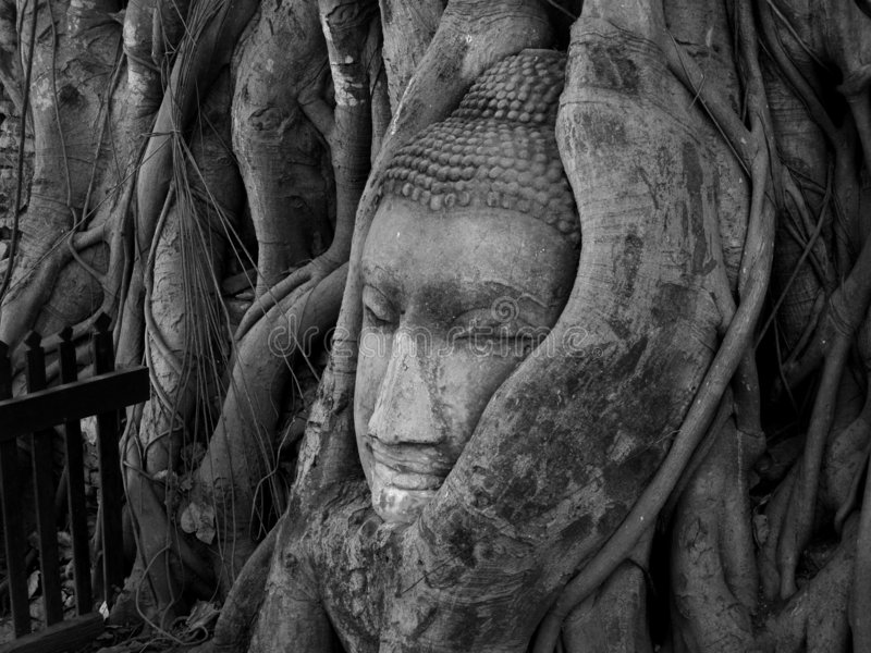De stijl /thailand 01 van Ayuthaya stock afbeelding