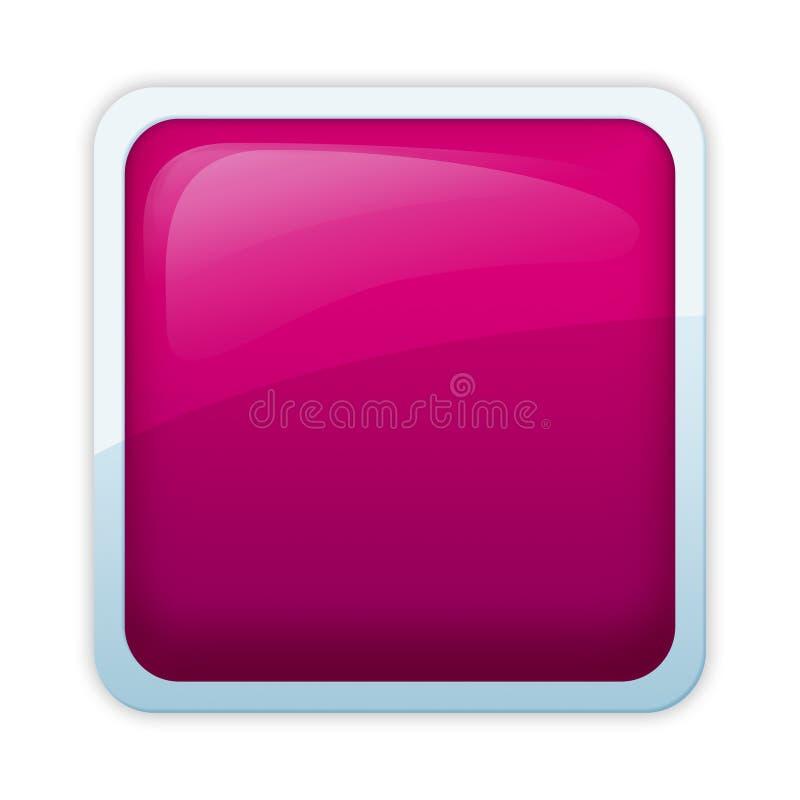 De stijl van Aqua - roseate tint stock illustratie