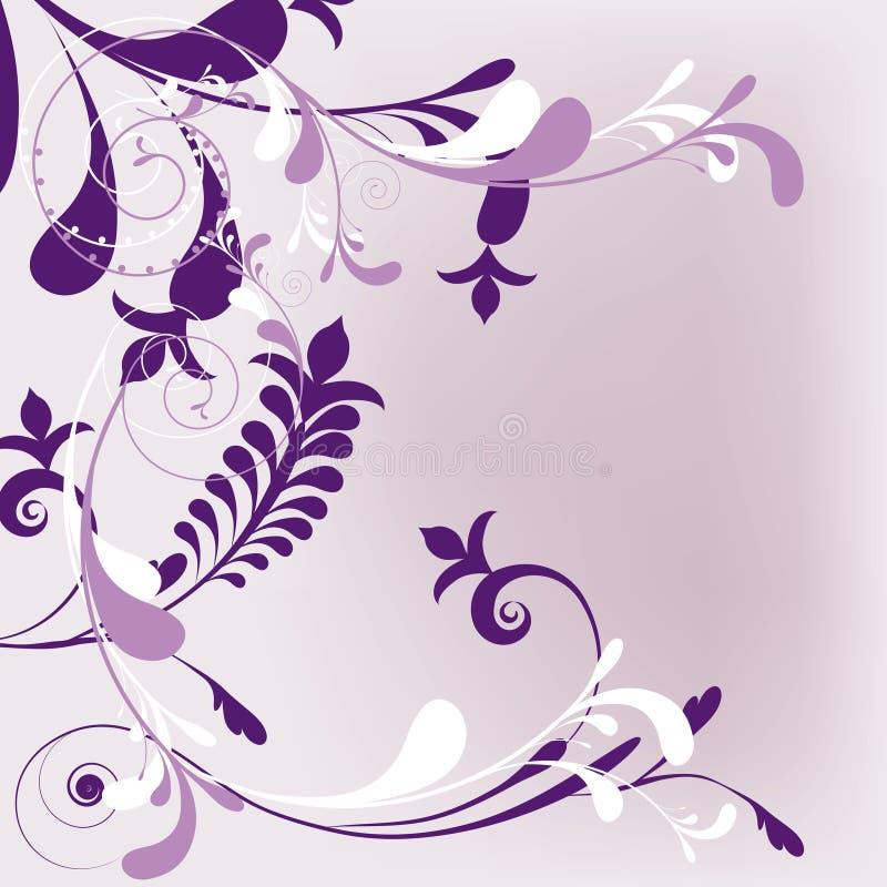 De stijl van de bloem royalty-vrije illustratie