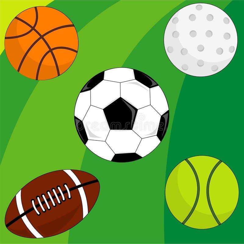 De stijl van de sport stock illustratie
