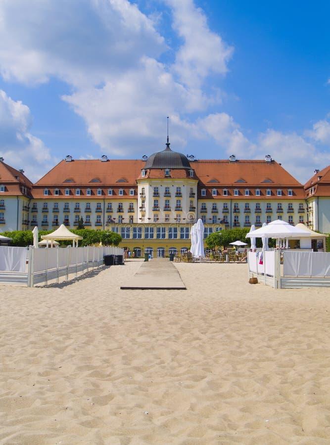 De stijlherenhuis van de Jugendstil, Sopot, Polen royalty-vrije stock foto
