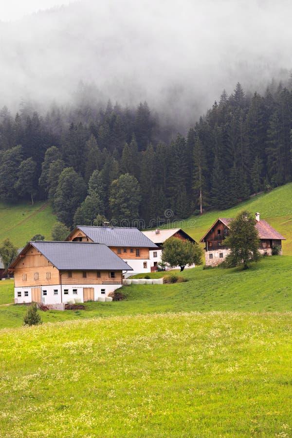 De Stilte van Alpen royalty-vrije stock afbeelding