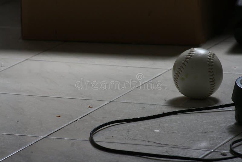 De stilte van de softballschaduw stock afbeelding