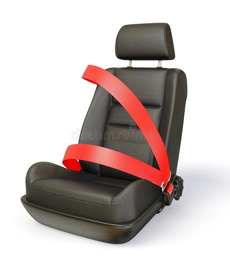 De stoel van de auto royalty-vrije illustratie