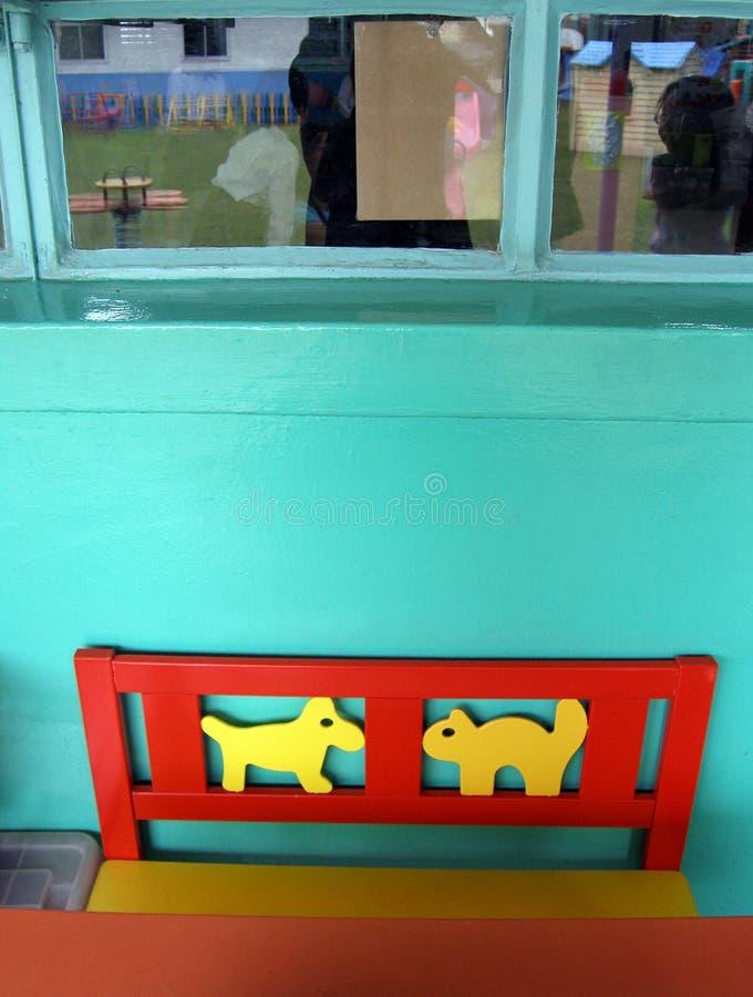 De stoel van de kat en van de hond royalty-vrije stock fotografie