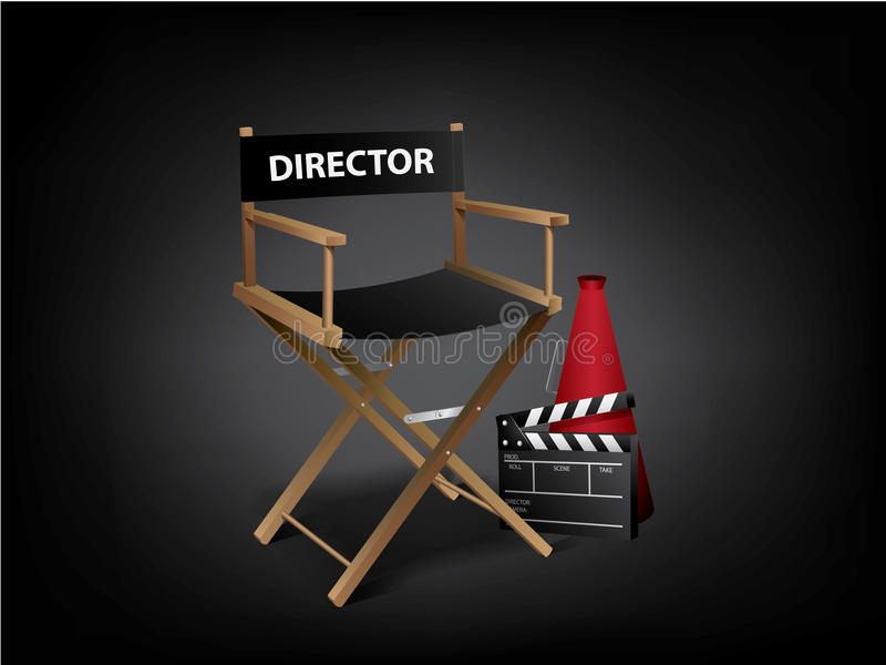 De stoel van de regisseur