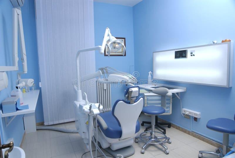 De stoel van de tandarts stock foto's