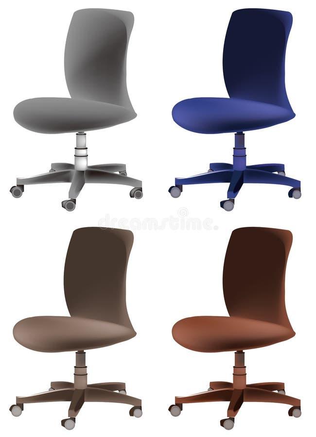 De stoel van het bureau stock fotografie