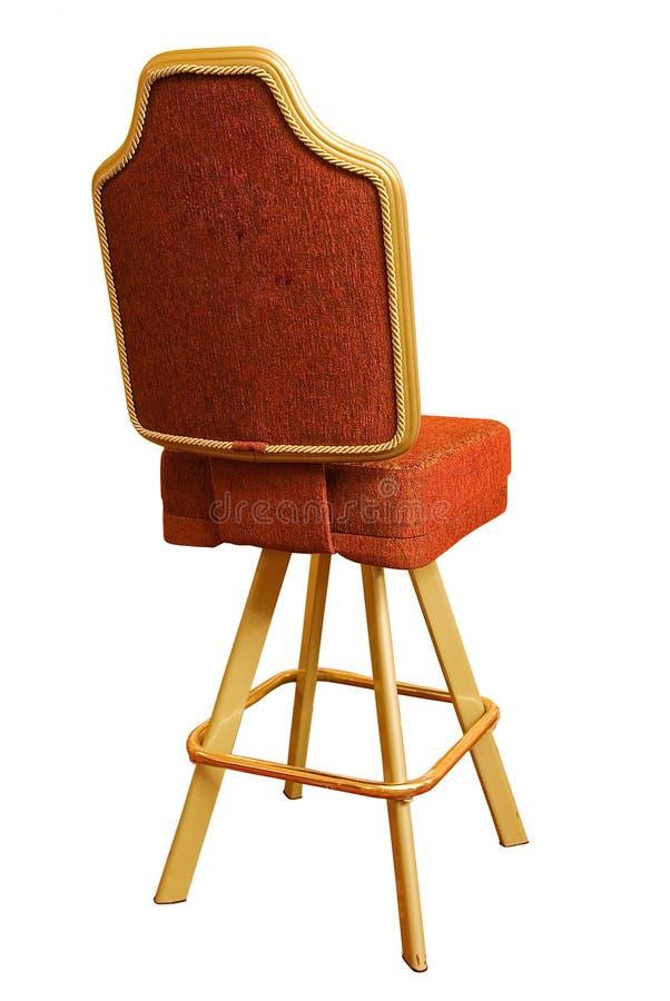 De stoel van het casino royalty-vrije stock foto