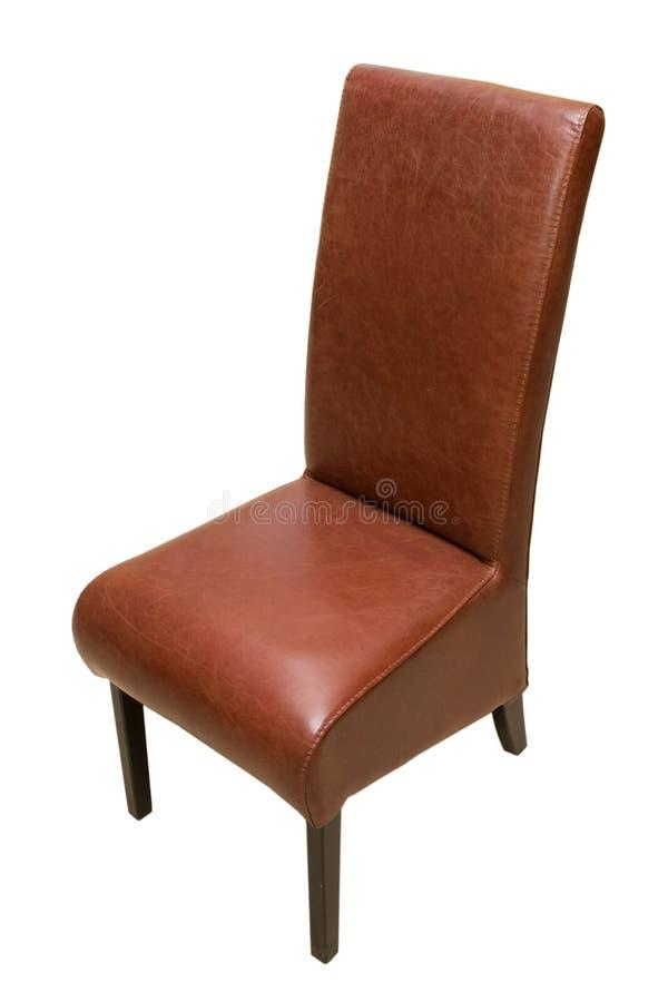 De stoel van het leer stock afbeelding afbeelding for Stoel leer