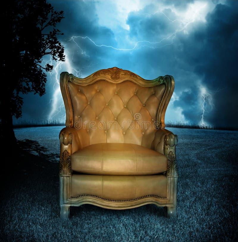 De stoel van het verhaal royalty-vrije stock foto