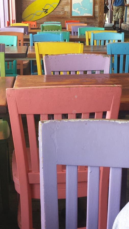 De stoelen royalty-vrije stock foto's