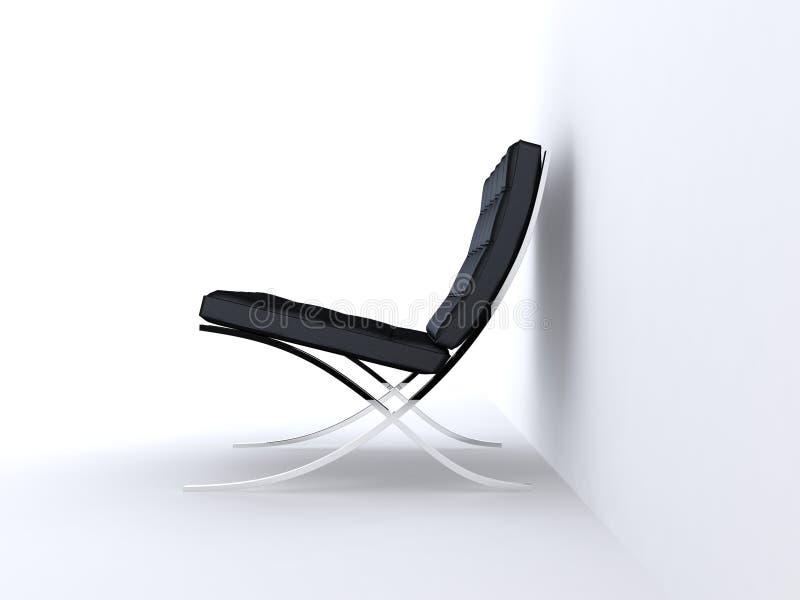 De stoelen van de ontwerper stock illustratie