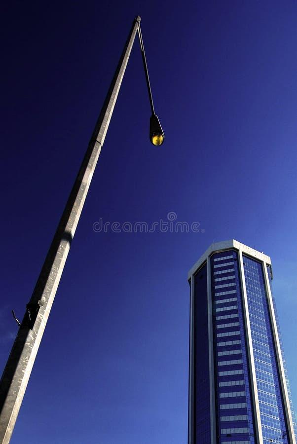De Stoep van de stad stock foto