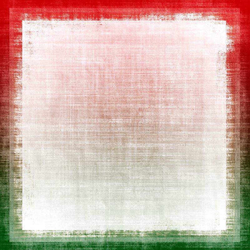 De Stof Grunge van de Kleuren van Kerstmis vector illustratie