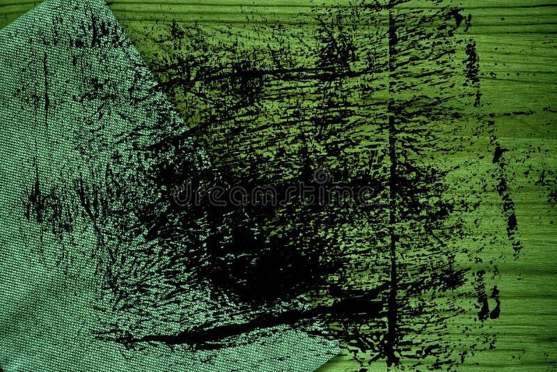 De stoffenoppervlakte van het Grunge ultra groene Linnen voor model of ontwerpergebruik, de steekproef van de boekdekking, monste royalty-vrije stock foto