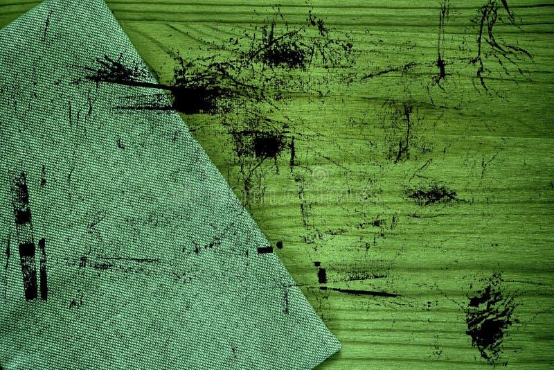 De stoffenoppervlakte van het Grunge ultra groene Linnen voor model of ontwerpergebruik, de steekproef van de boekdekking, monste royalty-vrije stock fotografie