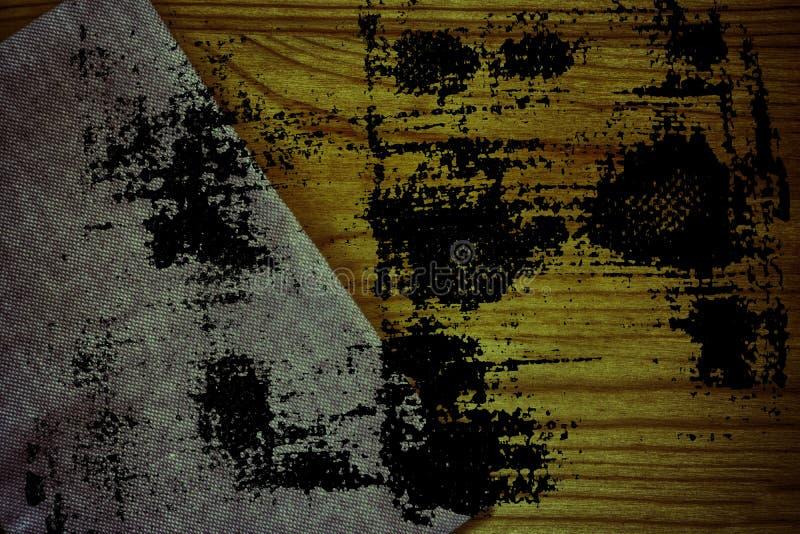 De stoffenoppervlakte van het Grunge Ultra oranje Linnen voor model of ontwerpergebruik, de steekproef van de boekdekking, monste royalty-vrije stock afbeeldingen