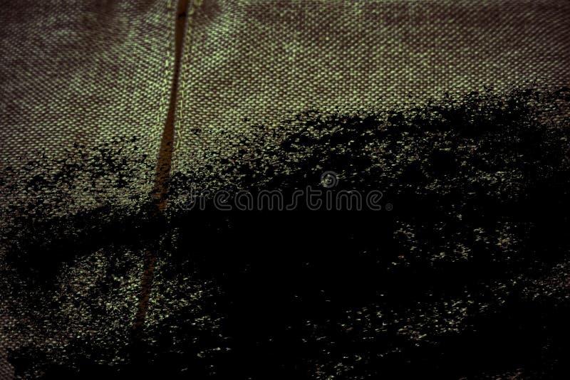 De stoffenoppervlakte van het Grunge Ultra oranje Linnen voor model of ontwerpergebruik, de steekproef van de boekdekking, monste stock foto's