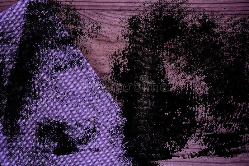 De stoffenoppervlakte van het Grunge ultra purpere Linnen voor model of ontwerpergebruik, de steekproef van de boekdekking, monst royalty-vrije stock foto's