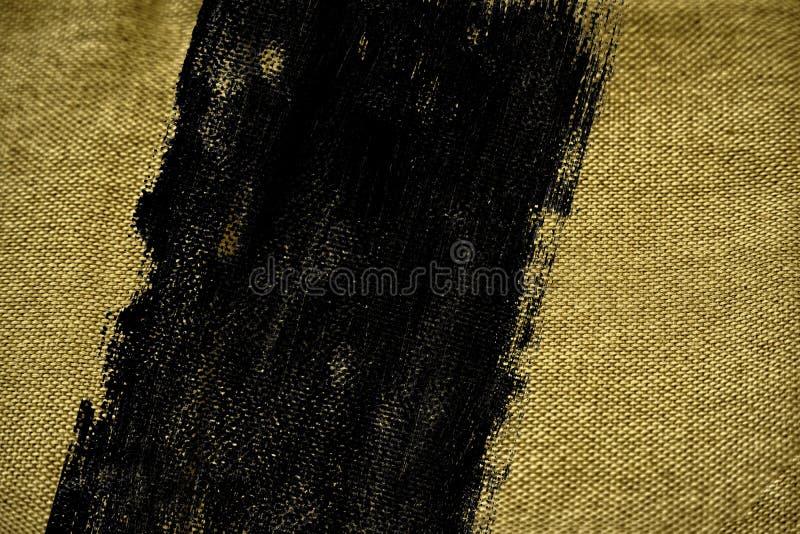 De stoffenoppervlakte van het Grunge vuile ultra gele Linnen voor model of ontwerpergebruik, de steekproef van de boekdekking, mo royalty-vrije stock afbeelding