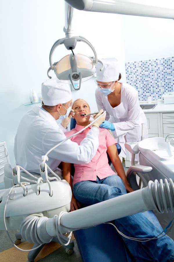 De stomatologie royalty-vrije stock fotografie