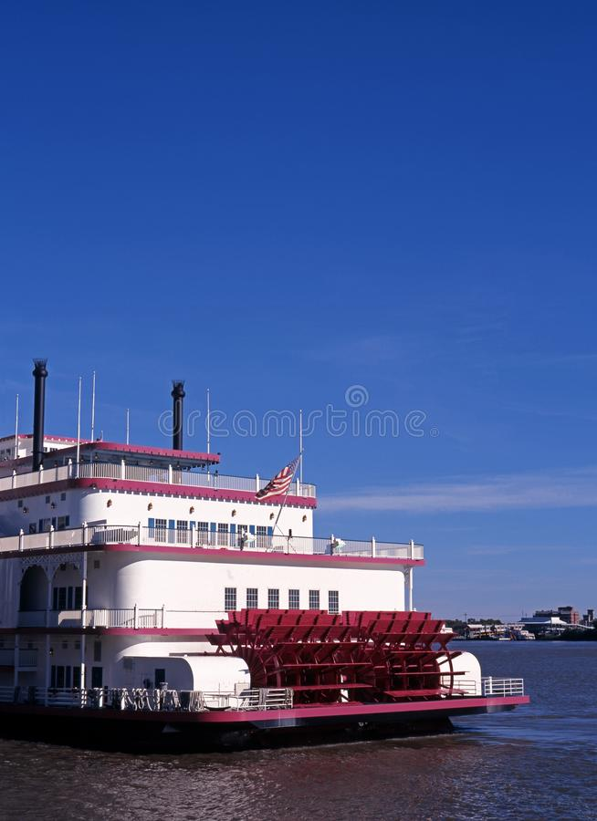 De stoomboot van de peddel, New Orleans, de V.S. stock foto