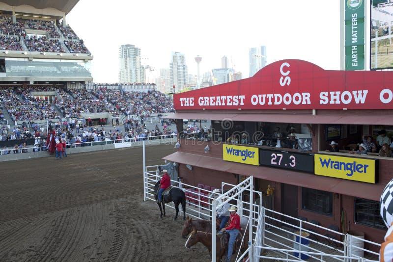 De Stormloop van Calgary, Calgary royalty-vrije stock afbeelding