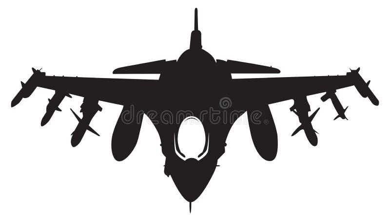 De straal van de vechter stock illustratie