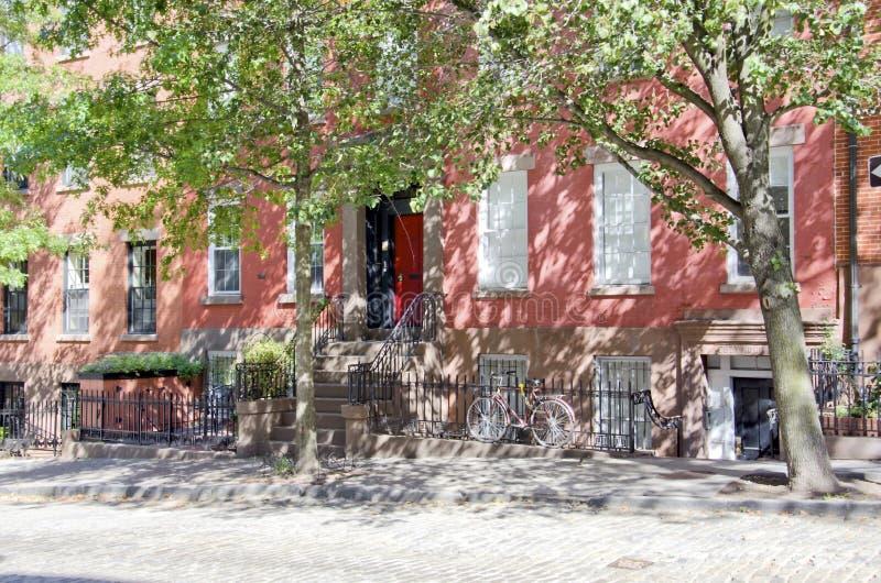De Straat van Brooklyn royalty-vrije stock afbeelding