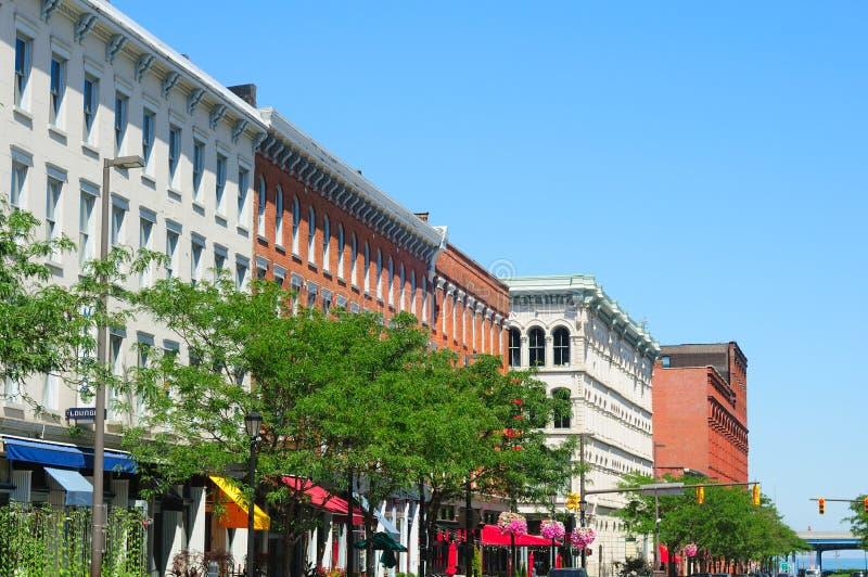 De straat van Cleveland stock afbeelding