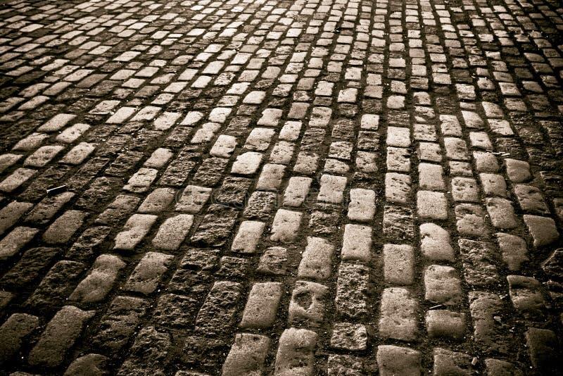 De straat van de kei royalty-vrije stock afbeelding