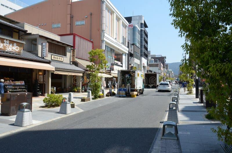 De straat van de sanjo-Doriweg royalty-vrije stock fotografie