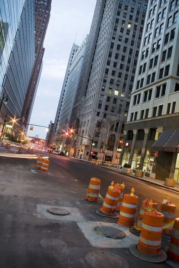De straat van de stad stock afbeelding