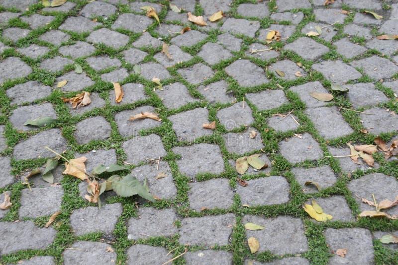 De straat van de steen royalty-vrije stock afbeelding