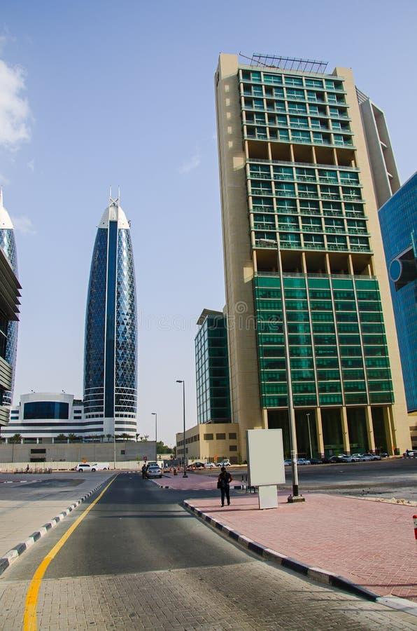 De straat van Doubai royalty-vrije stock afbeelding