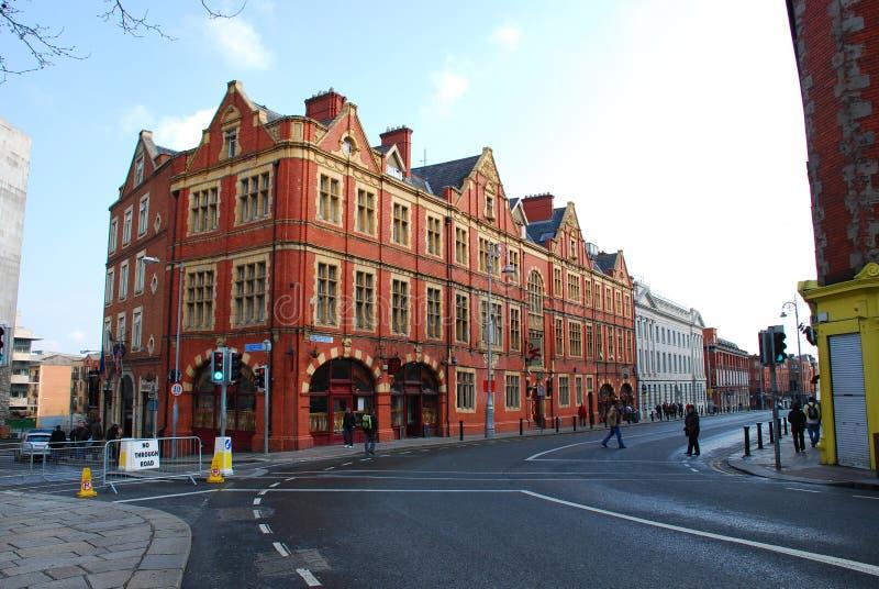 De straat van Dublin royalty-vrije stock foto