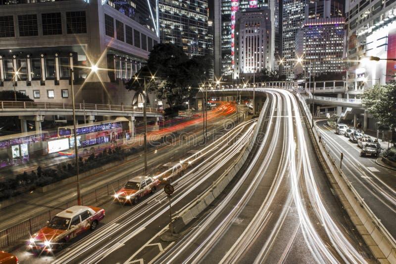 De straat van Hongkong royalty-vrije stock foto