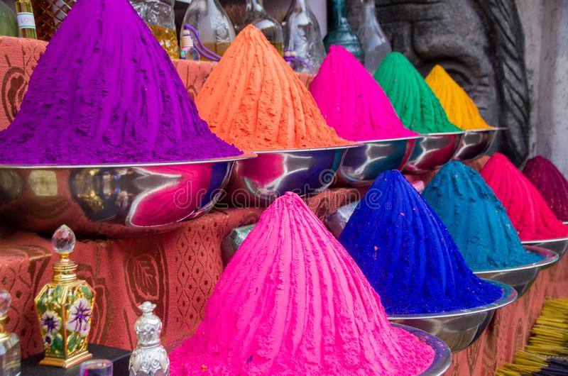 De straat van Jood in Kochi, India stock afbeelding
