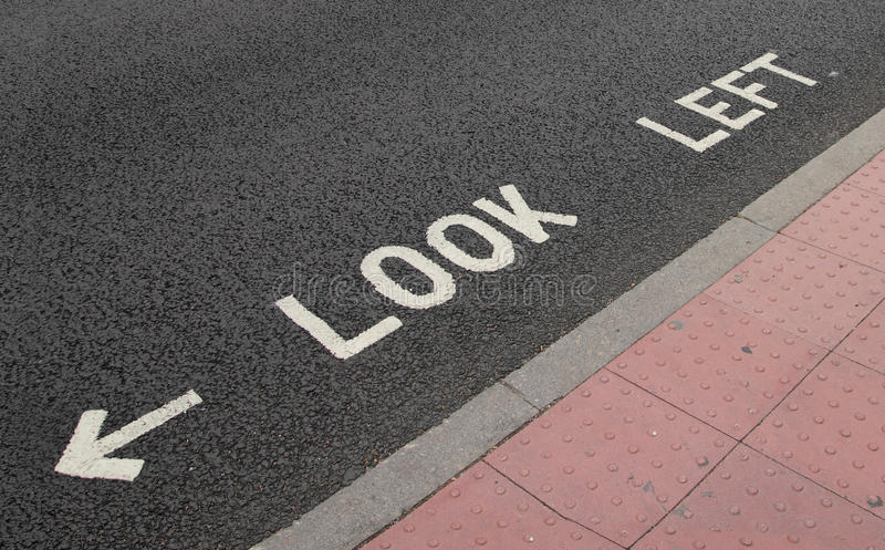 De straat van Londen stock fotografie